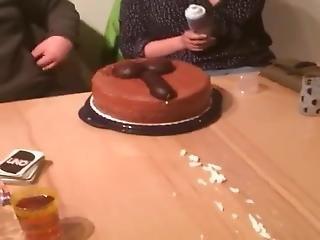 Birthday Cake & Cock