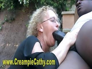 Cream, Creampie, Interracial, Sperm, Whore