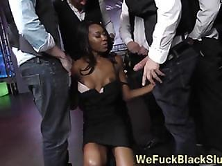 Jizz Mouthed Ebony Slam