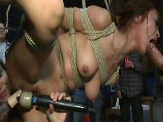 Japanese Babe Ravaged In Public