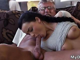 Lucky Old Man Fucks Teen And Mature Suck What Would