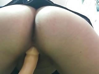 Pissing On My Dildo