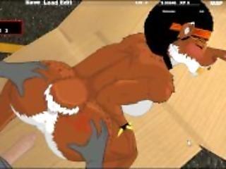 anál, animák, sex, postavička