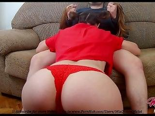Pigtailed Teen Big Ass Fucks Stepbrother When His Parents Are Outsides !!!