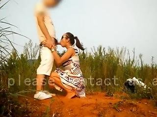 Village Married Lady Get Sex On The Mountain With Her Ex Boyfriend