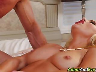 Glam Babe Pussy Jizzed