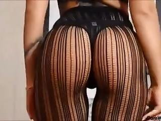 That Ass! Hot Booty Babe In Pinstripe Stockingz ~ !2!?????â #11
