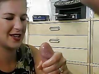 Handjob And Jizz