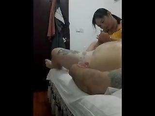 Real Chinese Massage Staring Randy Johnson