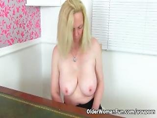 English Milf Fiona Can T Control Her Hungry Cunt