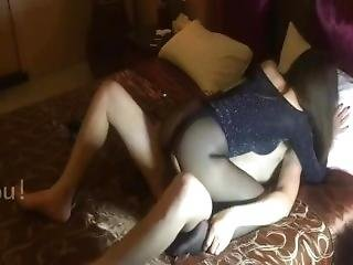 Chinese Black Stocking Lady Enjoy Different Angle Fuck In Riding Type