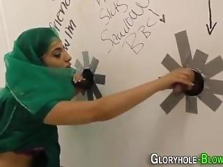 Nadia Ali - Hijab Interracial Gloryhole