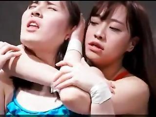 japán leszbikus birkózás pornó