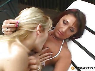 Not A Young Lesbian Licking Pussy Girlfriend