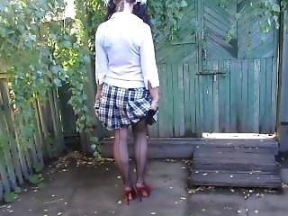 Golden Rain Of Schoolgirl! )