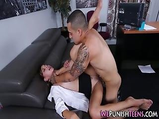 Teen Slut Rough Fucked