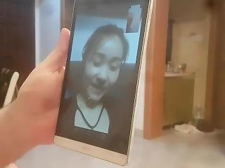 amatör, asiat, slyna, kinesiskt, kul, webcam