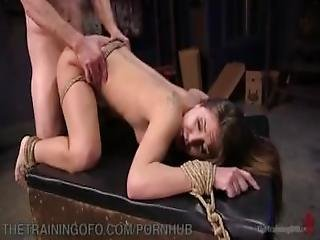 Bdsm Slave Learns Manners