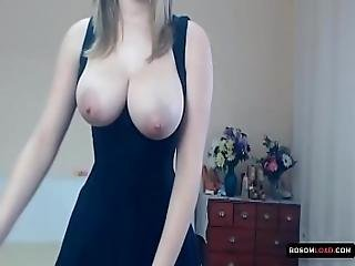 Stunning Hungarian Girl With Big Tits Filled With Milk
