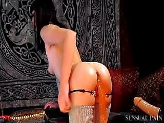 Anal Loving Milf Taking Bbc And Creampie