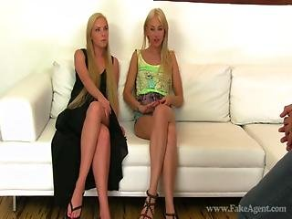 Lindsey Olsen And Angie Koks - Fake Agent Part 1