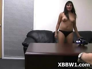 Seductive sBBW Pegged And Sucked Extreme