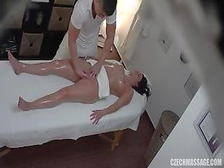 Brunette, Tjekkisk, Finger, Massage, Missonær