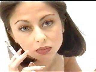 素人, 美しい, 新婦, ブルネット, 喫煙