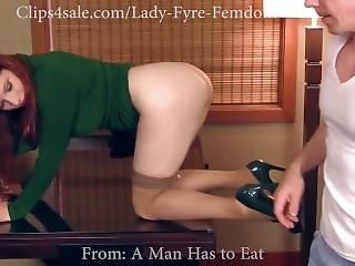 Femdom : Ass Eating - Facesitting