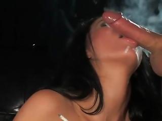 Tia Layne Smoking Marlboro Reds And Getting Fucked