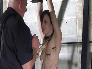 Fetish Pornstar Elise Graves In Fierce Dungeon Whipping And Humiliating Clamping Of Extreme Masochist In Bdsm