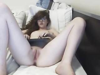 18yo Teen Masturbating On Webcam