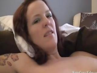 Annabelle Jerks A Fresh Load From Neighbors Cock
