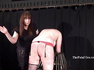 Chubby Lesbian Slave Alyss Whipped To Tears And Merciless Female Dominant