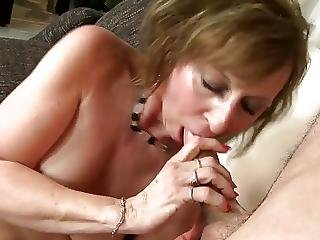Wild Milf Fucks Young Lucky Son