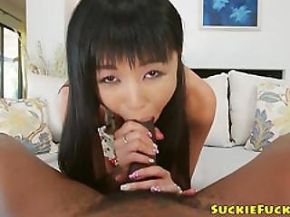Japanese Sweety Analized With Hung Black Cock