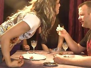 Cruel Girl Brings Back Her 2 Friends To Spit In The Face Of Her Blind-date.