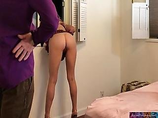 Schoolgirl Gets Stuck And Fucked By Stepdad - Erin Electra