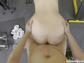Fucking Glasses - Teresa - Fucking Practice In A Gym