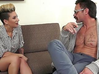 Toughlovex Della Dane Makes A Visit To Doctor Karl