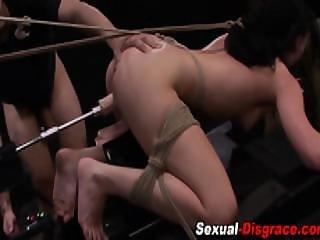 Bdsm Slave Machine Fucked