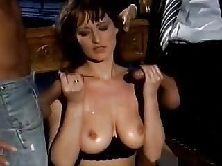 Schwarz, Schwarze Strümpfe, Gruppensex, Harter Porno, Pornostar, Strumpf