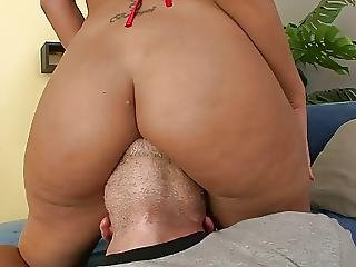 Sluts Hot Tight Ass Gets Nailed On The Sofa Doggy Style