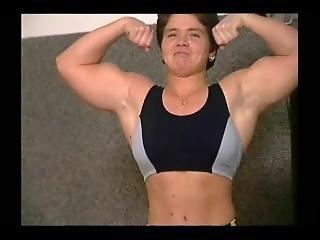 Musclegirl With Big Natural Tits