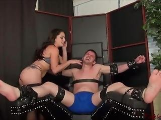 Tickle Abuse - Nite Cap Tickling By Cleo F/m (add Me If You Remember Me)