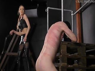 Mistress Lucy Lucy Whipping A Slave Violently