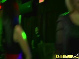Gorgeous Sluts Get Naughty At Nightclub - Beinthevip.com