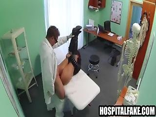 Patient Gets Fucked And Cummed On By Her Docnt Moans Of Pain Into Pleasure 720 5