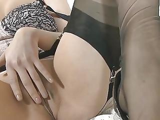 Nylon Stocking Private Tease