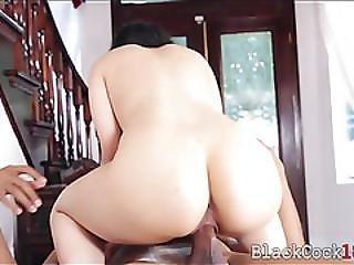 Sexy Arab Babe Nadia Ali Fucked Hard By Massive Black Cock